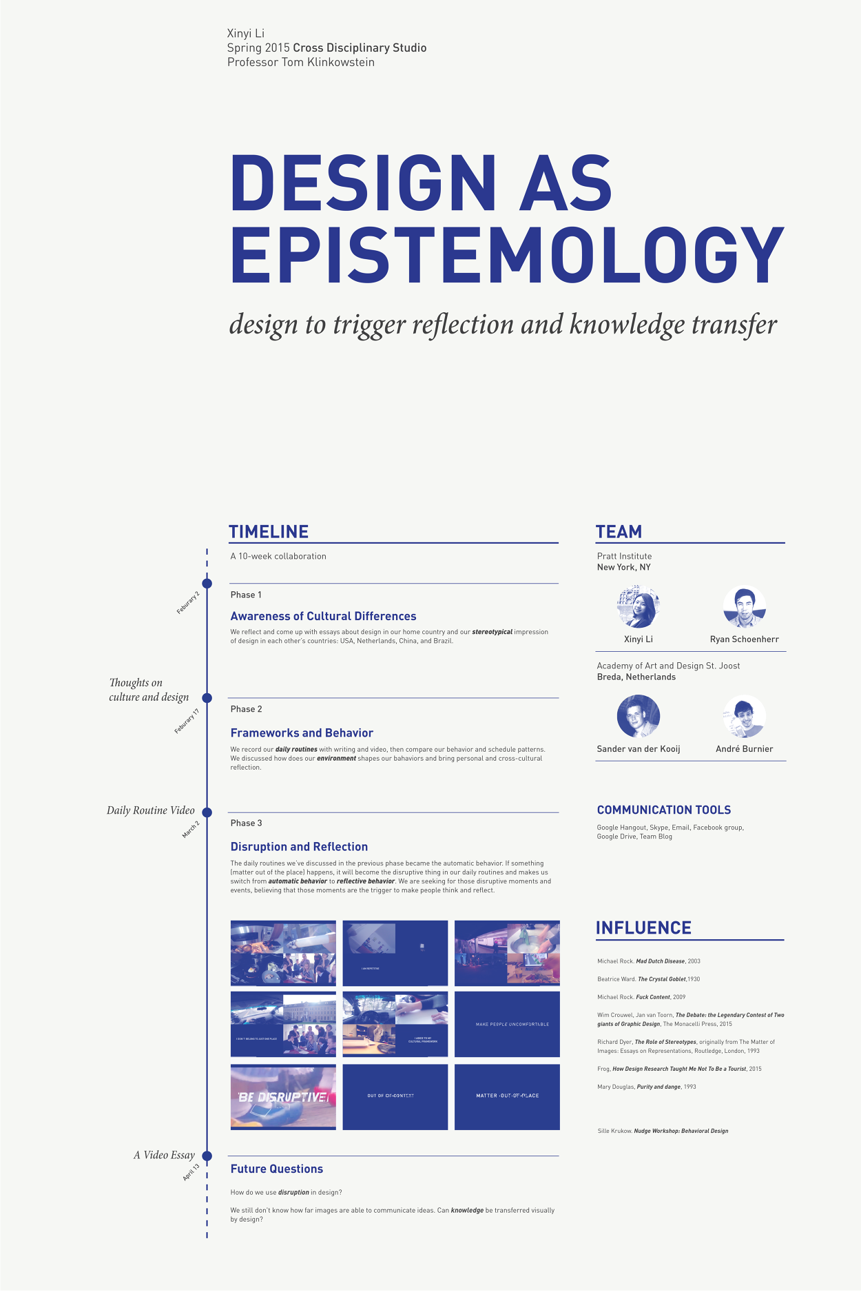 design as epistemology xinyi