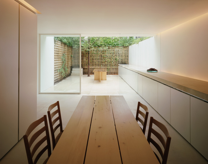 pawson house john pawson from one backyard to another On john pawson london