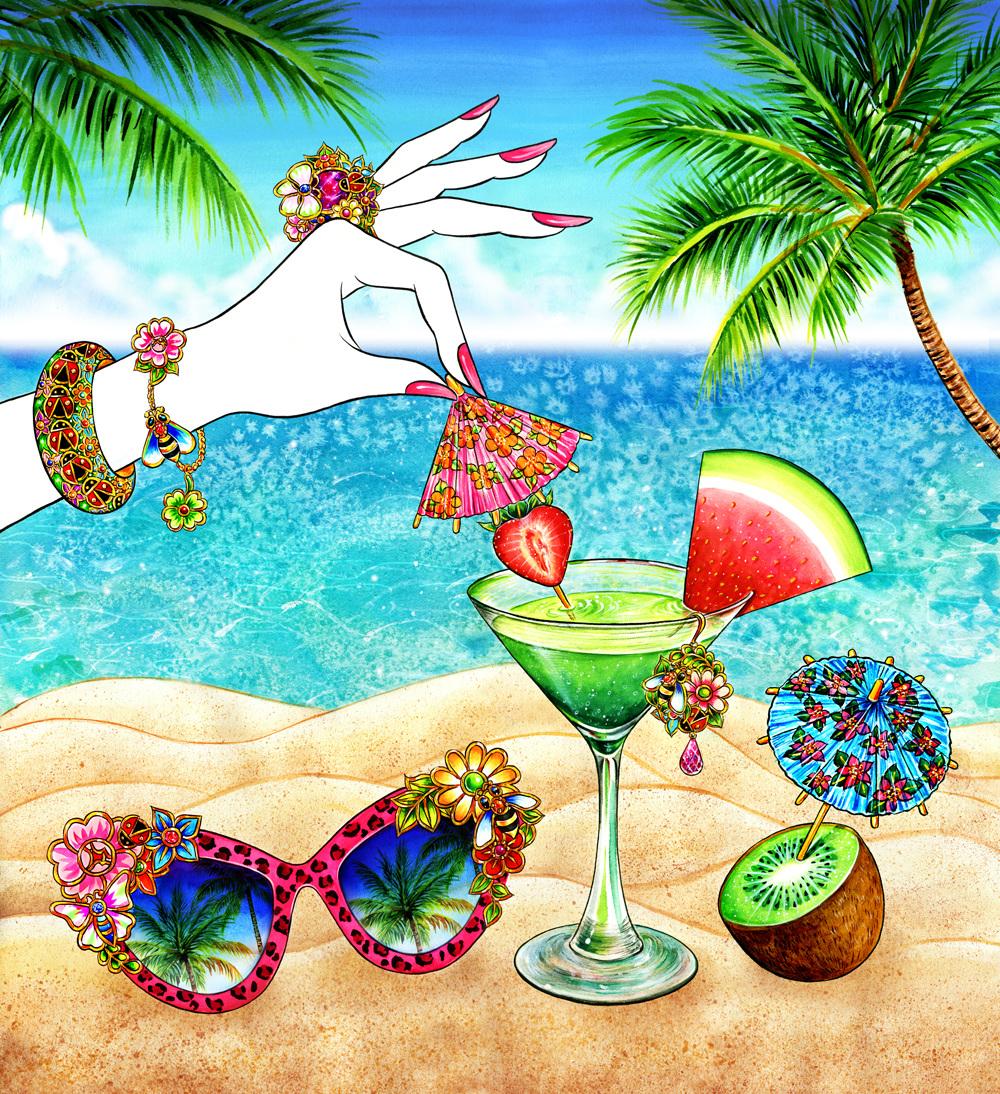 Summery Gems California Sunshine Sunny Gu